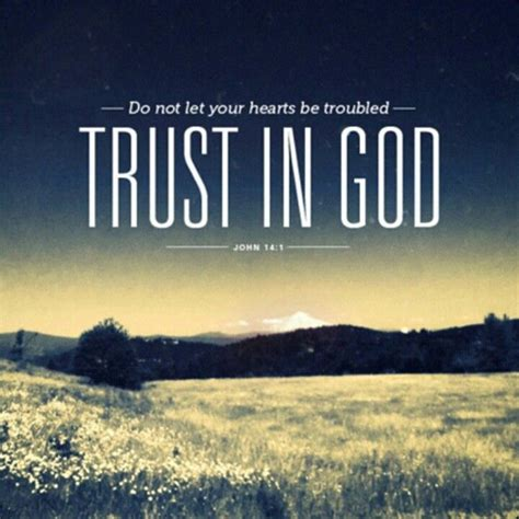 """It is easy to believe that something doesn't exist! John 14:1 """"Let not your heart be troubled; you believe in God, believe also in Me.   Trust god ..."""
