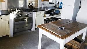 Cuisine Deco Industrielle : cr er une cuisine rustique industrielle cuisine d co ~ Carolinahurricanesstore.com Idées de Décoration