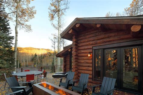 delightful log cabin  telluride colorado  trulinea