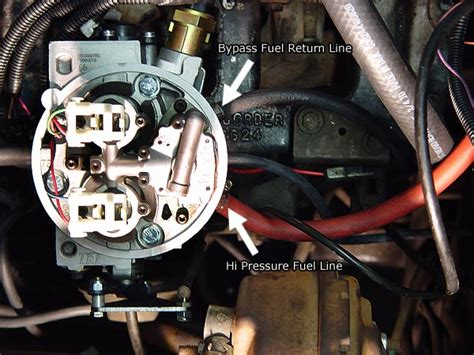 Howell Fuel Injection Wiring Harnes by Howell Throttle Fuel Injection Tbi Installation