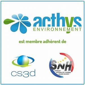 Membre de la cs3d et du snh acthys environnement acthys for Membre de la chambre syndicale du d m nagement