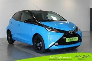 Auto Style Vannes : voiture occasion toyota aygo 1 0 vvt i 69ch x cite bleu ~ Nature-et-papiers.com Idées de Décoration
