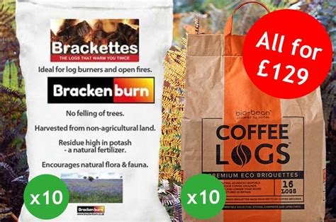 Brackenburn Brackettes And Coffee Logs Bundle