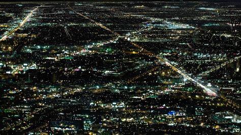 Beautiful Wallpaper Of Night Lights Image Of Metropolis