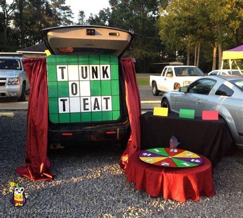 wheel fortune treat trunk halloween costume coolest costumes decorations wheels