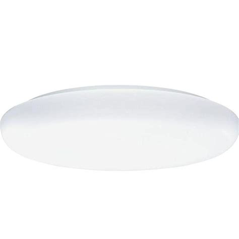 lithonia lighting 19 in 3 light white low profile