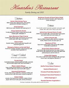 family dinner menu 3 template archive With family dinner menu template