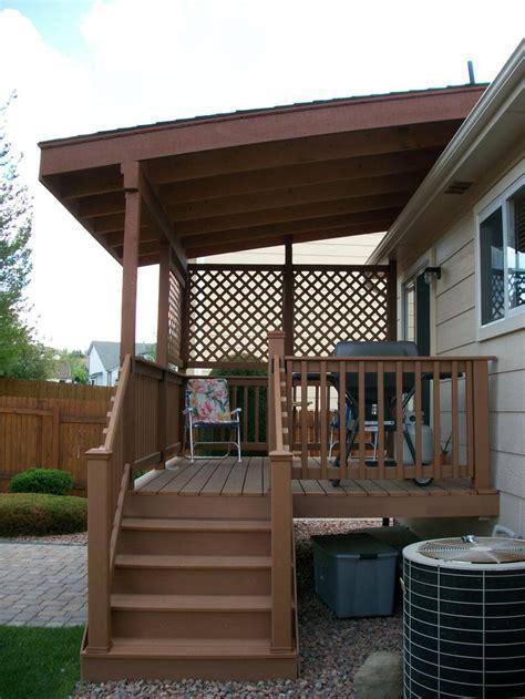 decking   build  freestanding deck   outdoor