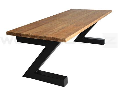 teak tafel industri 235 le tafel teak woonloodz nl