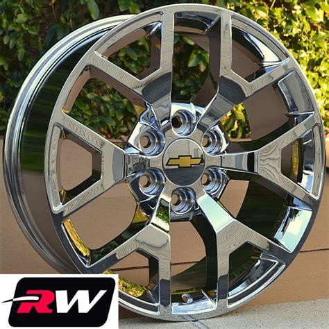 gmc wheels 24 inch replica chrome rims avalanche silverado suburban tahoe ebay