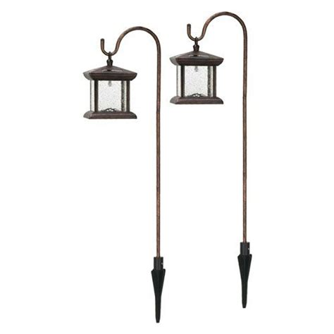 solar powered led accent garden yard lights