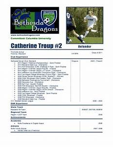 football cv download forms and templates fillable With soccer player profile template