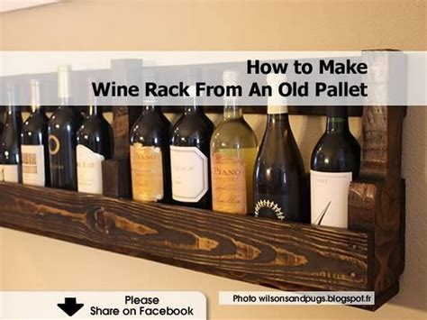 how to make a wine rack in a cabinet how to make wine rack from an old pallet