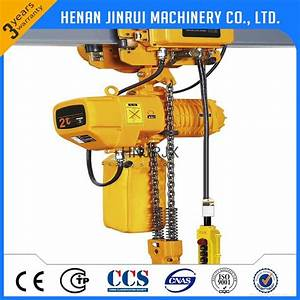 Manual Hand Lifting Equipment Electric Chain Hoist