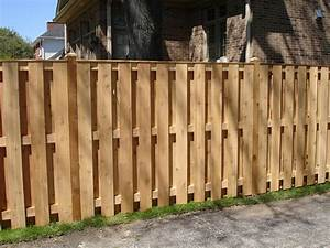 Shadow Box Wood Fence — Fence Ideas