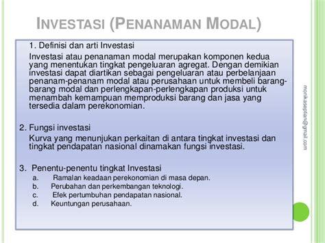 teori ekonomi makro resume