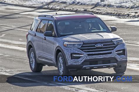 spy shots       fords  explorer