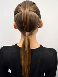 Coiffure Queue De Cheval : tuto coiffure la queue de cheval couture du d fil david ~ Melissatoandfro.com Idées de Décoration