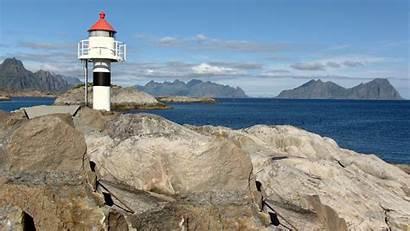 Lighthouse Lofoten Islands Windows Lockscreen Microsoft