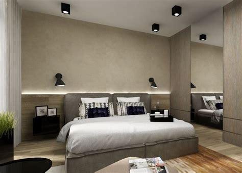 schlafzimmer ideen wandgestaltung beleuchtung indirekte beleuchtung led schlafzimmer wand hinter bett