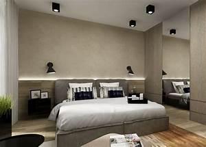 Lampen Schlafzimmer Schöner Wohnen : indirekte beleuchtung led schlafzimmer wand hinter bett ~ Michelbontemps.com Haus und Dekorationen
