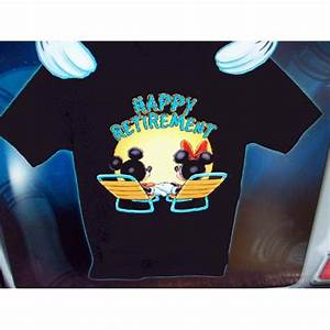 Your WDW Store - Disney ADULT Shirt - Happy Retirement