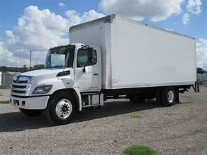 2016 Used Hino 268  24ft Box Truck With Liftgate  At