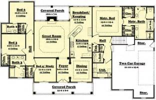 simple 4 bedroom house plans 4 bedroom house design