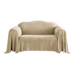sure fit plush throw sofa slipcover walmart com