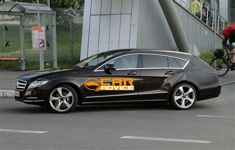 mercedes benz cls shooting brake spy shots