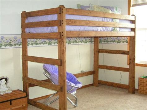 1000 images about diy queen loft bed on pinterest queen