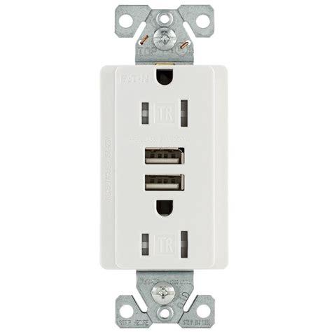 Eaton Amp Volt Combination Outlet Usb