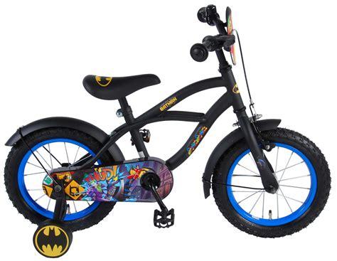 fahrrad 14 zoll jungen batman fahrrad 14 zoll schwarz matt kinderfahrrad mit st 252 tzr 228 dern jungen ab 3 ebay