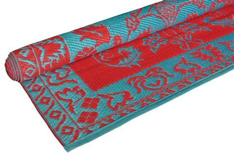 brocade duo tone floor mat turquoise eclectic