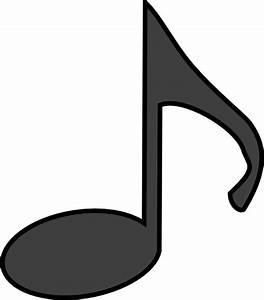 Music Note Clip Art Black And White | Clipart Panda - Free ...