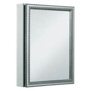 kohler 20 in x 26 in recessed or surface mount medicine