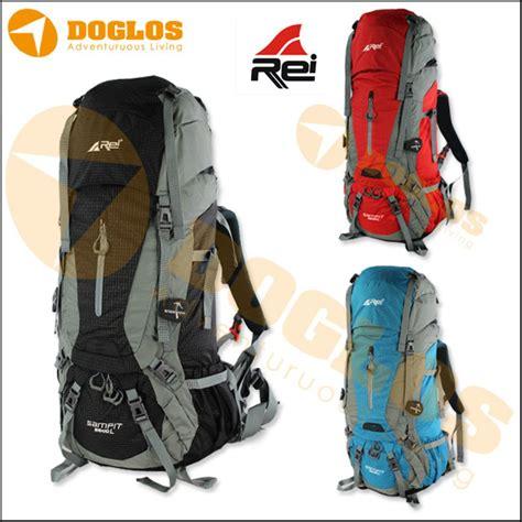 jual tas carrier rei sit 55 10l 65l backpack ransel gunung keril travel di lapak doglos