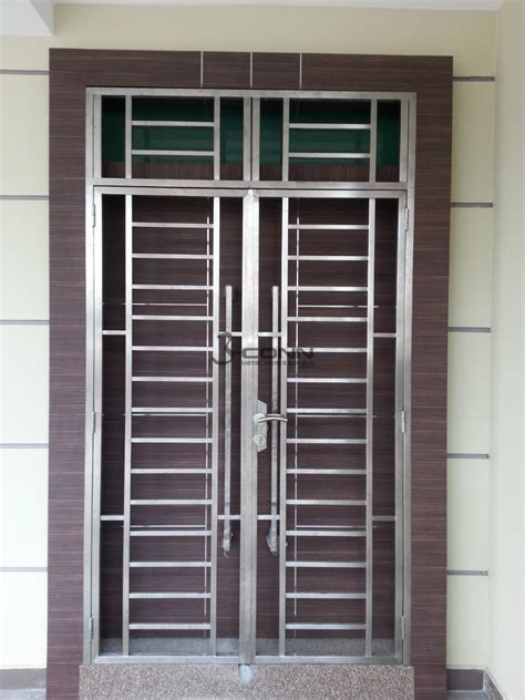 stainless steel door grille