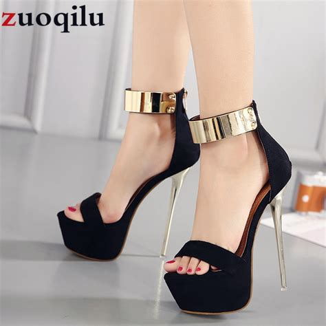 Wedding High Heels by 16cm High Heels Platform Wedding Shoes High