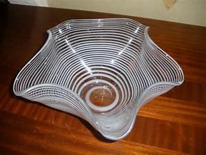 Saladier En Verre : saladier en verre souffl artisanal id e cadeau claire d 39 une chose dans mon placard ~ Teatrodelosmanantiales.com Idées de Décoration