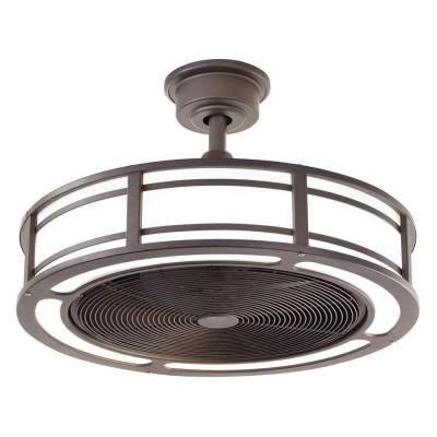 Home Depot Drum Light by Home Decorators Collection Brette 23 In Led Indoor