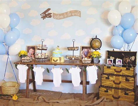 Travel Themed Baby Shower - travel world countries baby shower quot a vintage travel