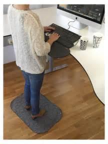 standup ergonomisk arbetsplatsmatta svart stamatta