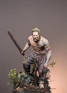 Celtic Warrior, III c. b.C - 75mm - Art Girona (x1 fig)