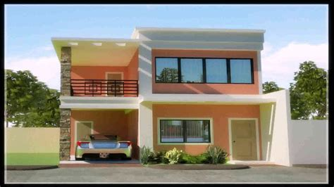 two house designs two storey house design with floor plan in the philippines