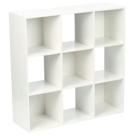 cube shelf organizer martha stewart living 36 in x 36 in white stackable 9