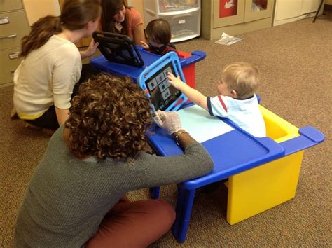 communication sciences and disorders students use the 894 | aac preschool