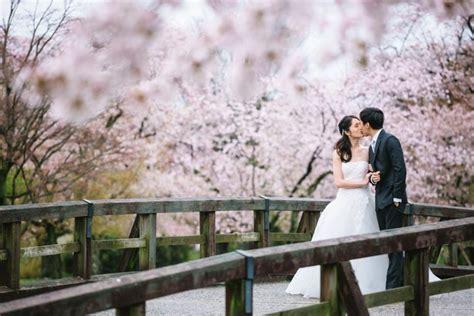 sakura pre wedding engagement portraits osaka kyoto