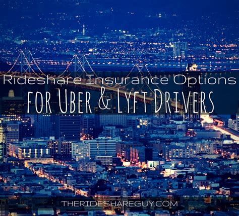 Insurance For Drivers - rideshare insurance best options for uber lyft by state