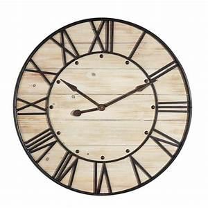 Grande Horloge Industrielle : horloge ardennes maisons du monde ~ Teatrodelosmanantiales.com Idées de Décoration